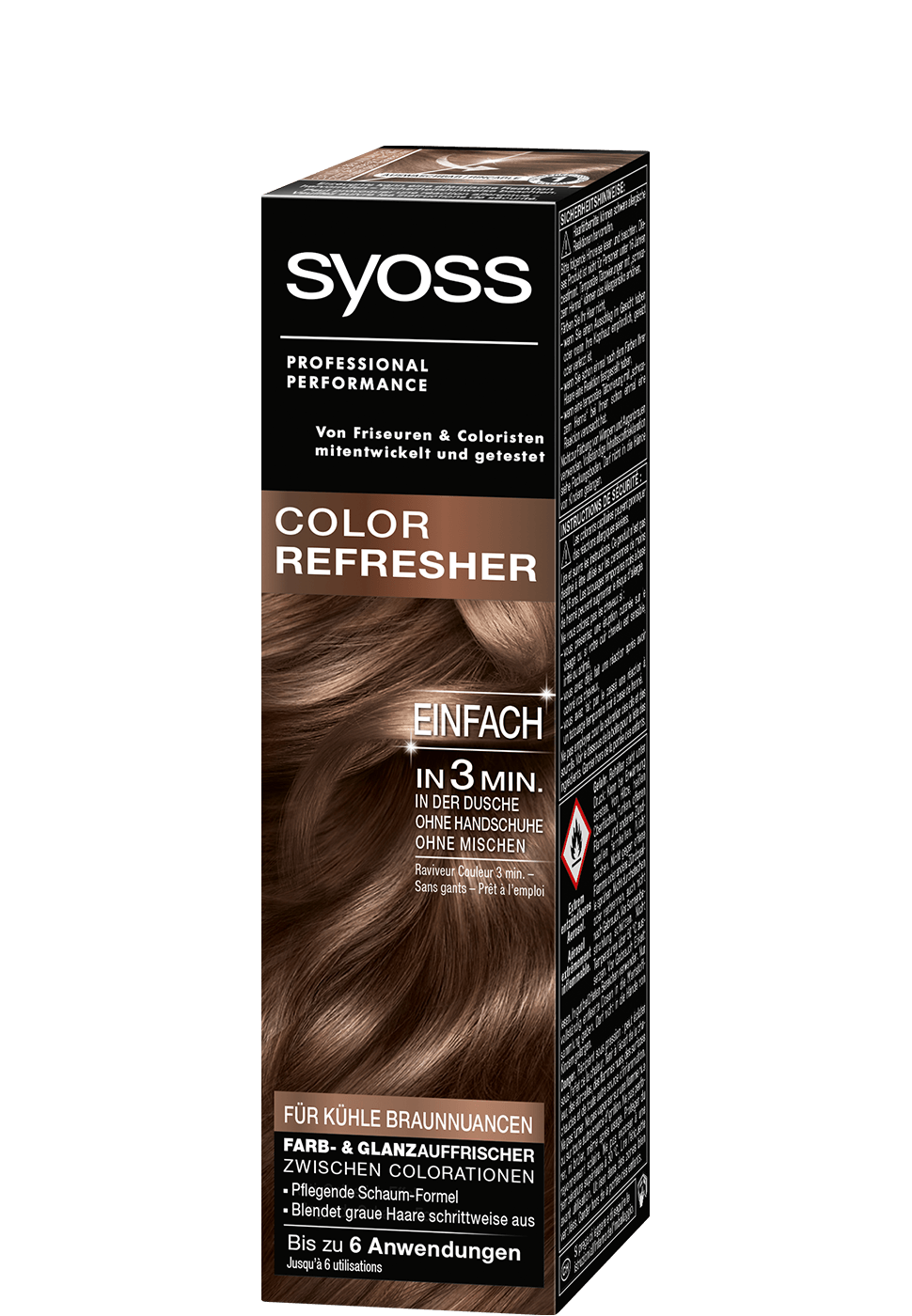 Syoss Color Refresher Kühle Braunnuancen