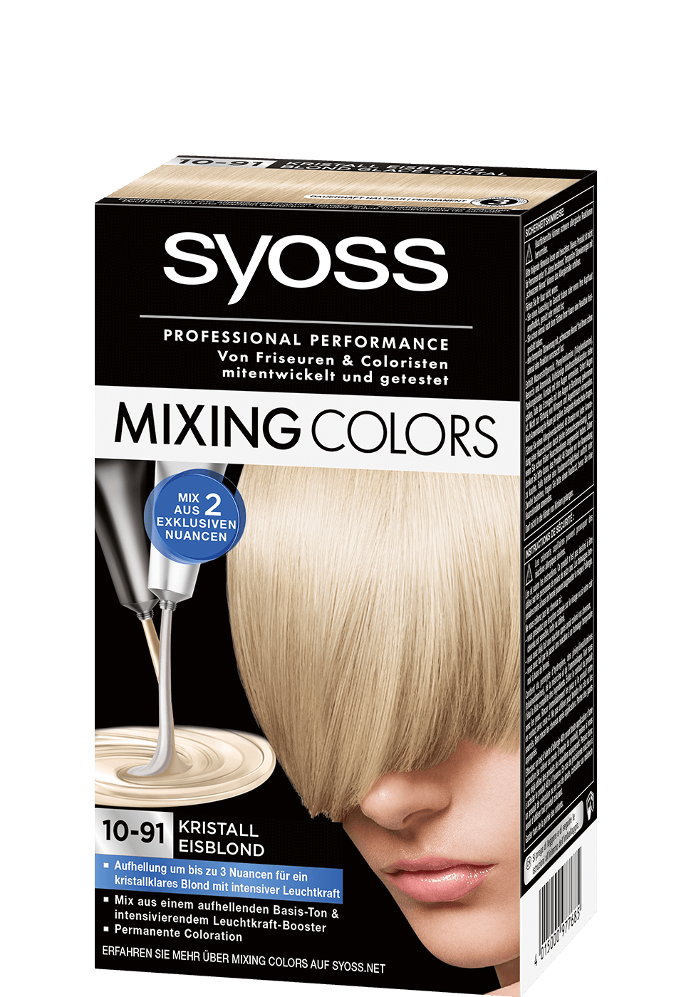 Syoss Mixing Colors 10-91 Kristall Eisblond
