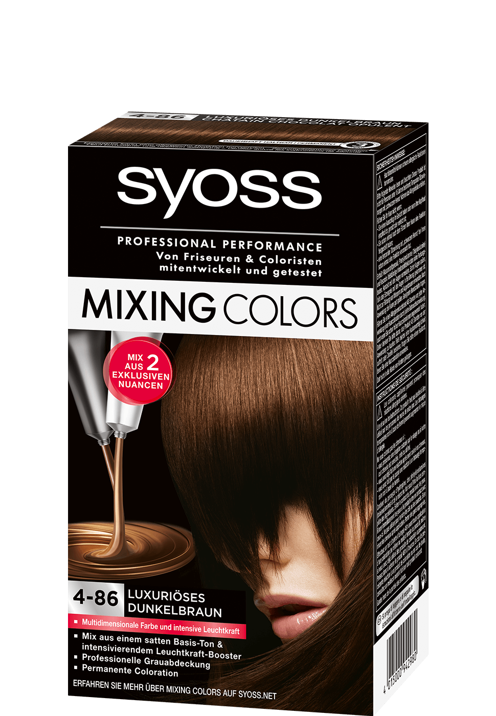 Syoss Mixing Colors 4-86 Luxuriöses Dunkelbraun