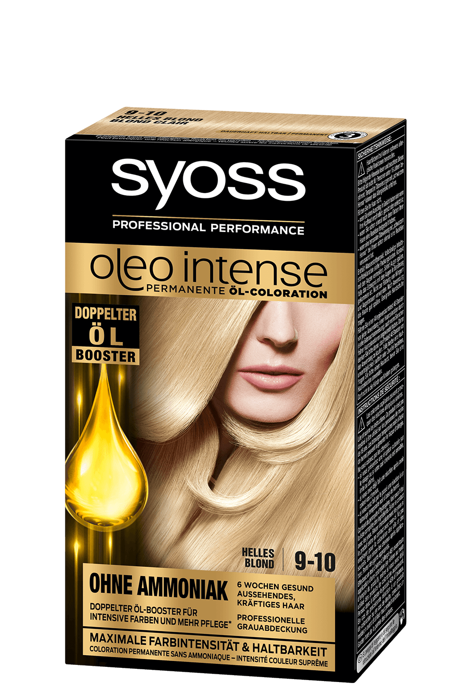 Syoss Oleo Intense 9-10 Helles Blond