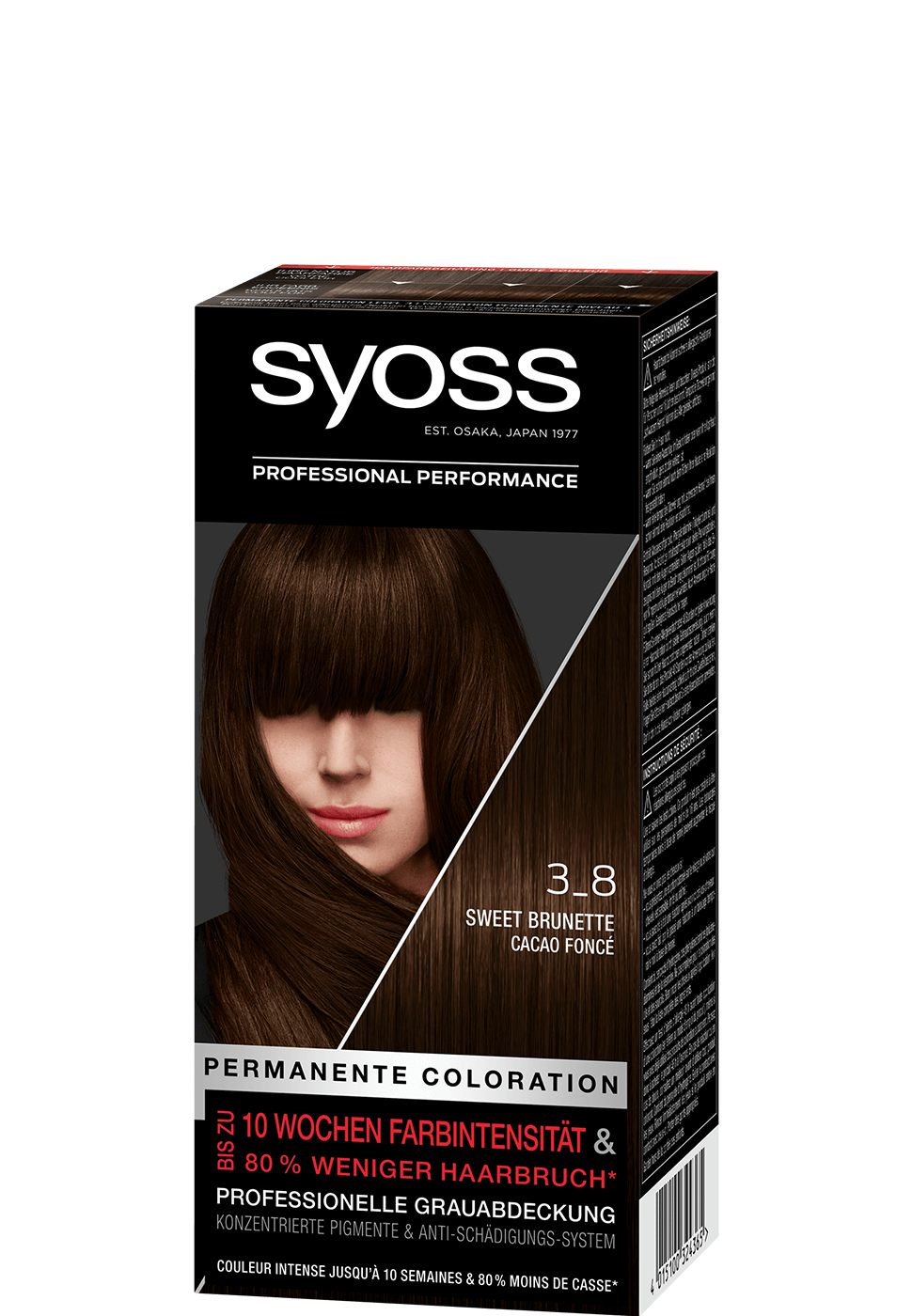 Syoss Salonplex 3-8 Sweet Brunette